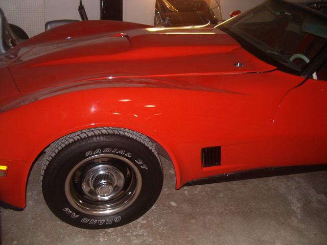 1980 corvette classic car