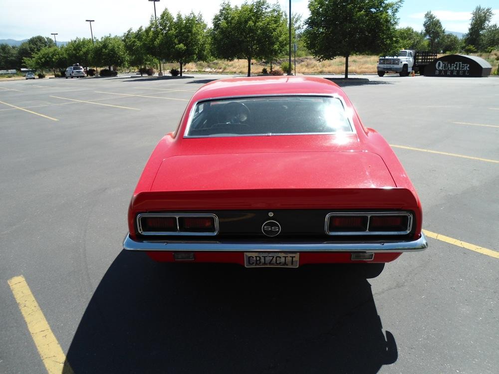 1968 Camaro at The Shop Boise
