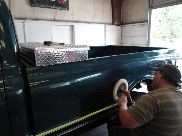 Classic 1969 Chevy C20 truck restoration at The Shop Boise